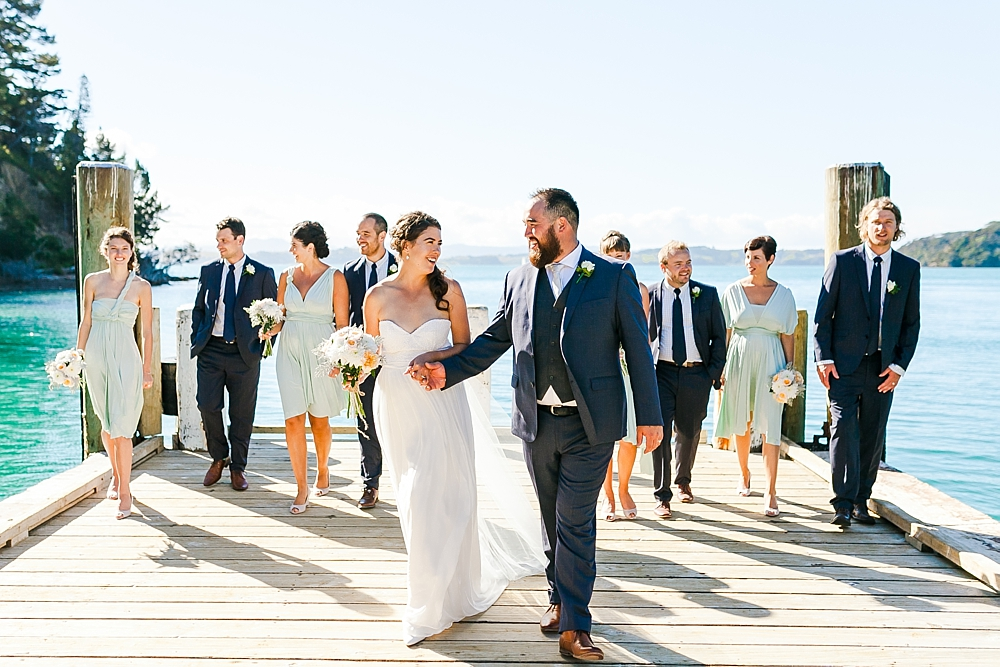 The Beach House Kawau Island Wedding